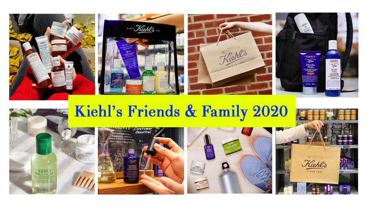 Parte il Kiehl's Friends & Family!