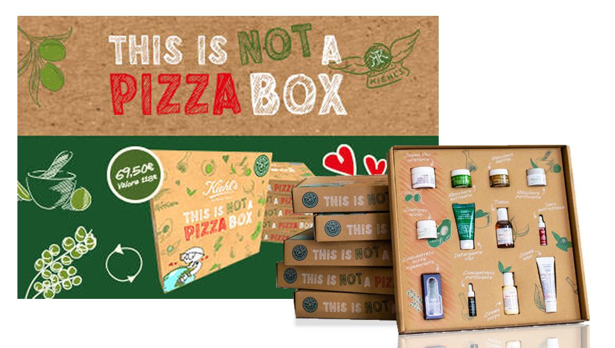 Kiehl's This is not a Pizza Box è quì!